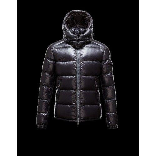 Moncler Zin Ultralight Detachable Hood Schwarz Daunenjacke Wool Nylon Herren 41236575TV