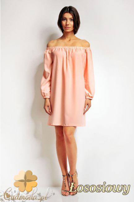 Sukienka mini z odkrytymi rękawami marki Karen Styl.  #cudmoda #moda #ubrania #odzież #clothes #sukienki