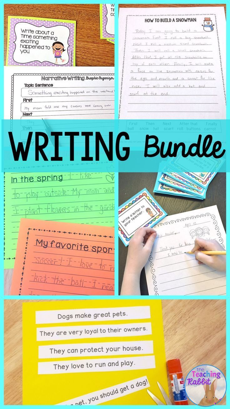 Writing Bundle Narrative Procedural Opinion Friendly Letter Paragraph Elementary Writing Lessons Writing Bundle Elementary Writing [ 1308 x 736 Pixel ]