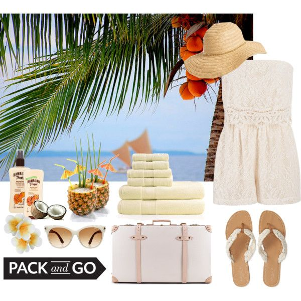 Pack and go: Hawaii, Oahu by seems99 on Polyvore featuring moda, maurices, Aéropostale, Globe-Trotter, David & Young, Tom Ford, Hawaiian Tropic and Monsoon