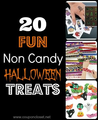 Nice roundup of clever ideas to pass out at Halloween besides candy.