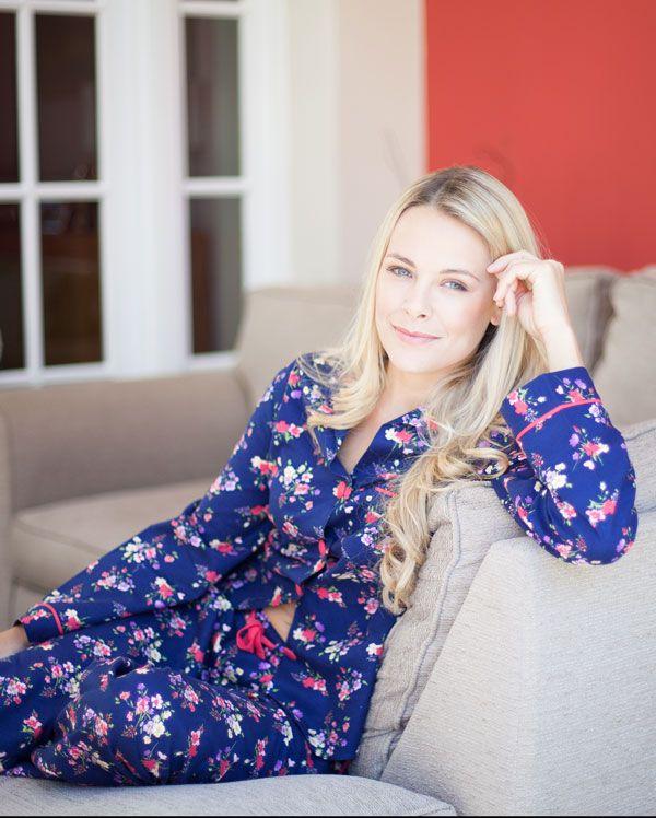 Jasmine Brushed Floral Printed Pyjamas