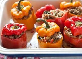Pimentão recheado com carne moída é fácil e gostoso! - Gastronomia - Bonde. O seu portal
