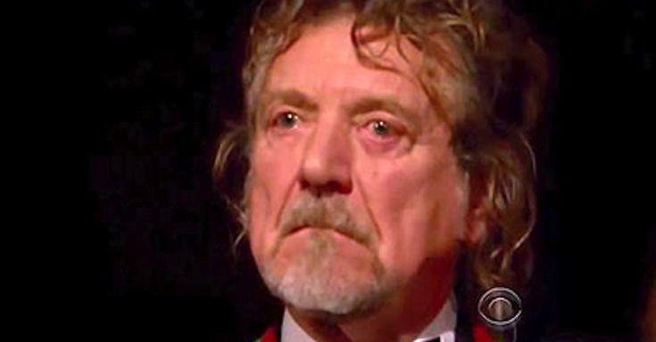 I get goosebumps watching Robert Plant get Tears When Ann Wilson Covers 'Stairway To Heaven' via LittleThings.com