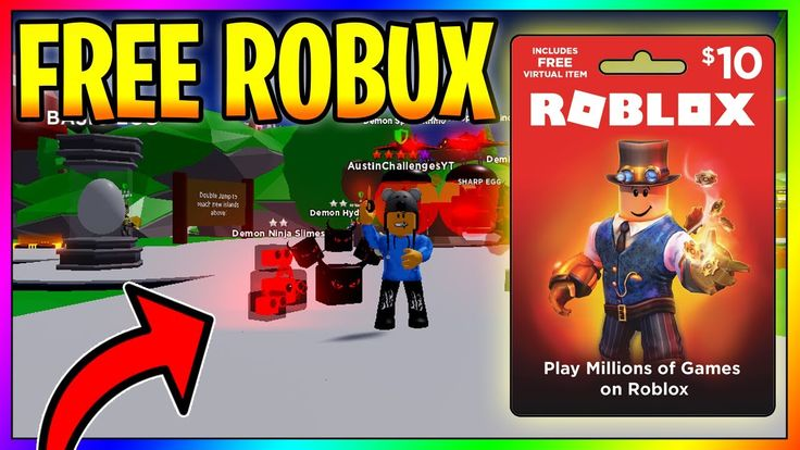 Free robux gift card giveaway in 2021 roblox gifts