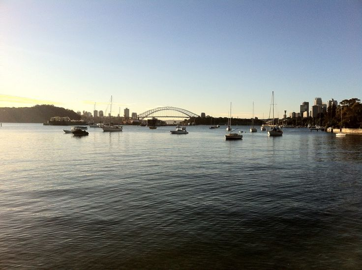 Sydney Harbour Bridge from Birchgrove.