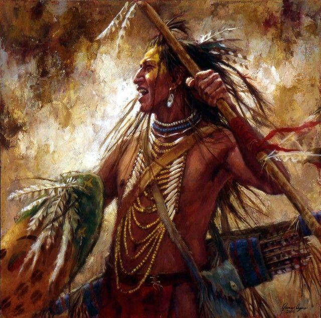 Американские художники рис индейцев решила