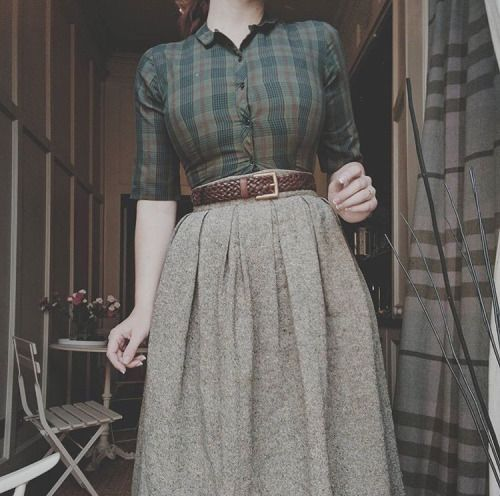So möchte ich mich jeden Tag kleiden. Dies mit du…