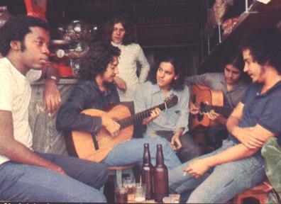 Clube da Esquina: Milton Nascimento, Toninho Horta, Beto Guedes, Fernando Brant, Lô Borges e Márcio Borges.