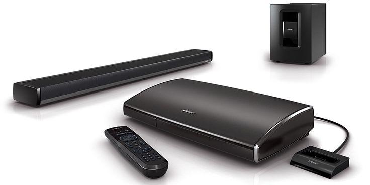 Système home-cinéma #Bose Lifestyle 135 : Une barre de son haut de gamme. #EasyLounge #barredeson