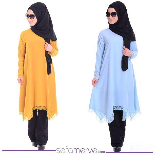 En Yeni Tunik Modelleri Sefamerve'de! Üstelik Kargo BEDAVA Kampanyasıyla! #sefamerve #tesetturgiyim #tesettur #hijab #tesettür #tunik