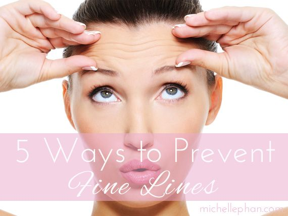 Preventing wrinkles before they start
