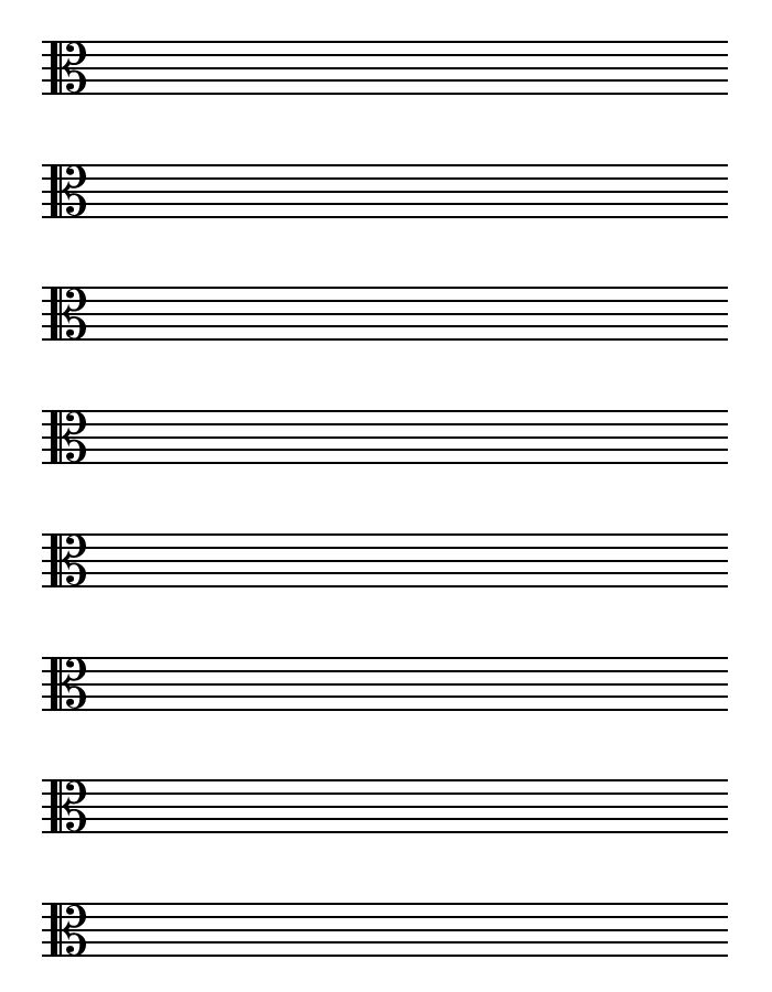 Music Paper Template Music Paper Template Guitar Blank Guitar – Sample Staff Paper