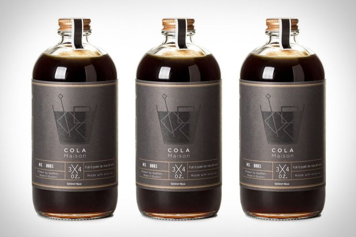 Cola and whiskey are a great combination, but dumping a bunch of high fructose corn syrup into your glass isn't the best way to mix a drink. Cola Maison Syrup is handcrafted in Quebec using all natural ingredients like Kola...