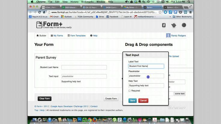 8 best Google Forms images on Pinterest Technology integration, In