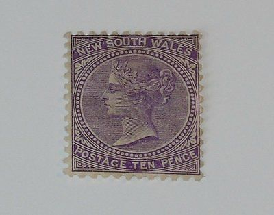 Stamp Pickers New South Wales 1897 Victoria 10p Scott #97a MH OG $25