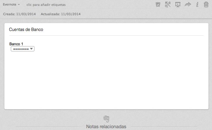 Cómo encriptar textos en #Evernote #video