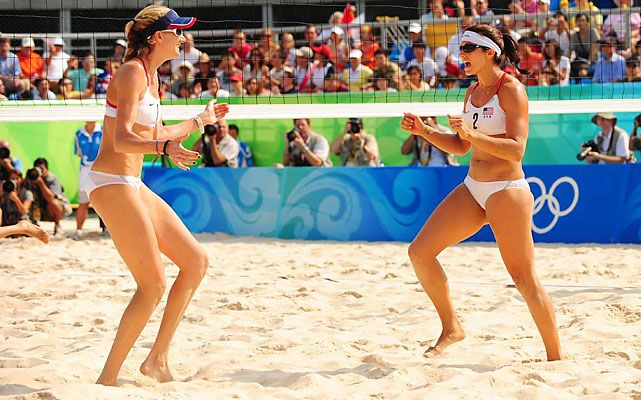 Misty May-Treanor and Kerri Walsh have all but sewn up their third straight Olympic berth together. The 2004 and 2008 Olympic champions each took time off in 2009 and 2010, but they returned to the professional tour in 2011 and finished the year ranked No. 2 in the world behind the Brazilian world champions. (Robert Beck/SI)  GALLERY: U.S. Olympic Hopefuls: Beach Volleyball #EasyPin