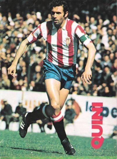 """Enrique Castro, """"Quini"""". 1968-1987."""