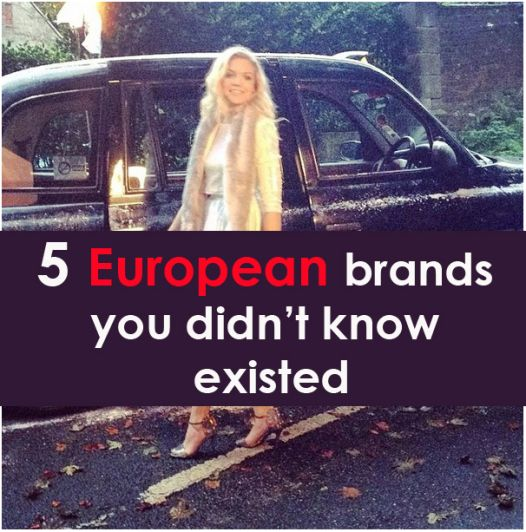 5 European Clothing Brands you didn't know about! – SRTrends