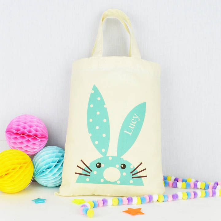 43 best personalised easter gifts images on pinterest are you interested in our personalised bag with our personalised easter party bag you need look no further negle Image collections