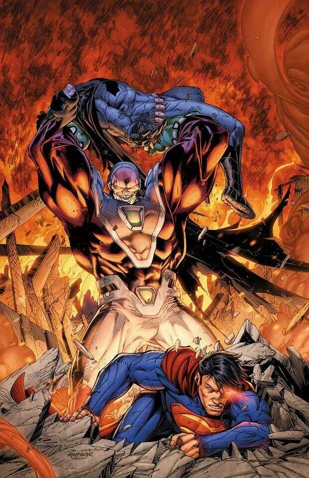 Batman & Superman v Mongul