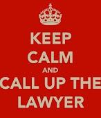 keep calm and...call up the lawyer