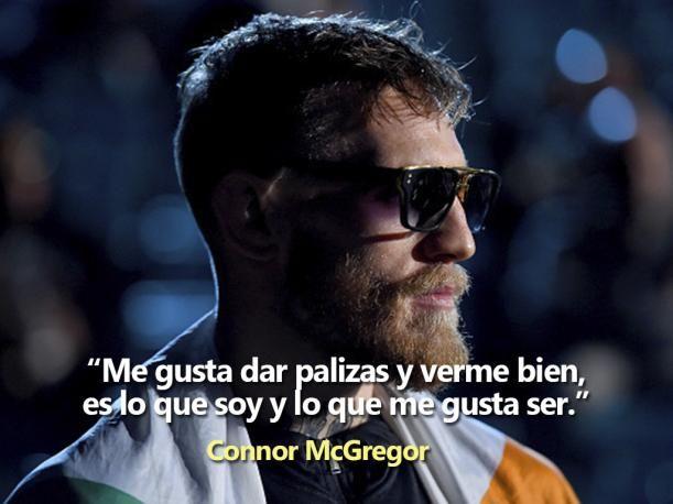 Conor McGregor es uno de los peleadores más polémicos que tiene la UFC en los últimos tiempos. El peleador irlandés, campeón Peso Pluma del octágono, siempre hace noticia, tanto dentro y fuera de la jaula con las frases más desafiantes que pueden existir para sus adversarios.