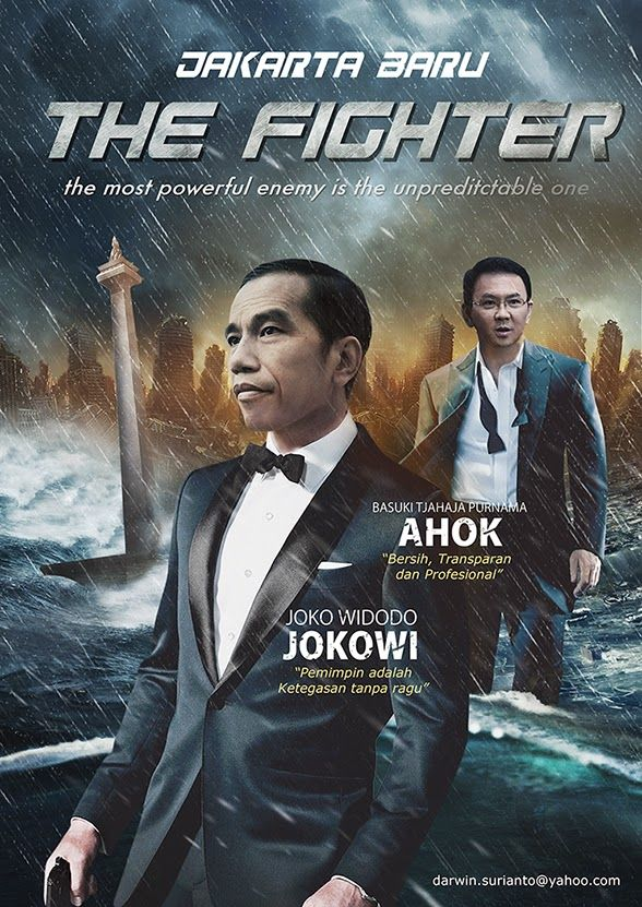 Jokowi Ahok dalam THE FIGHTER
