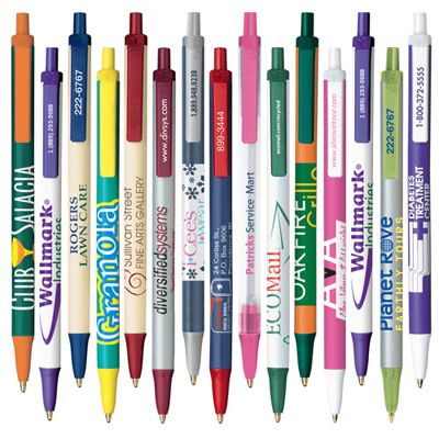 Bic® Clic Stic / 9500  FREE Shipping & FREE Set-Up. The # 1 selling pen in the world!