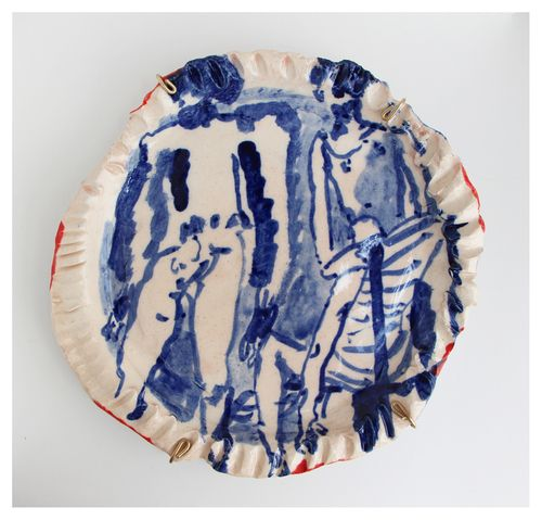 'While We Were Lost 16'   Glazed Ceramic   R 4 600   Reserved
