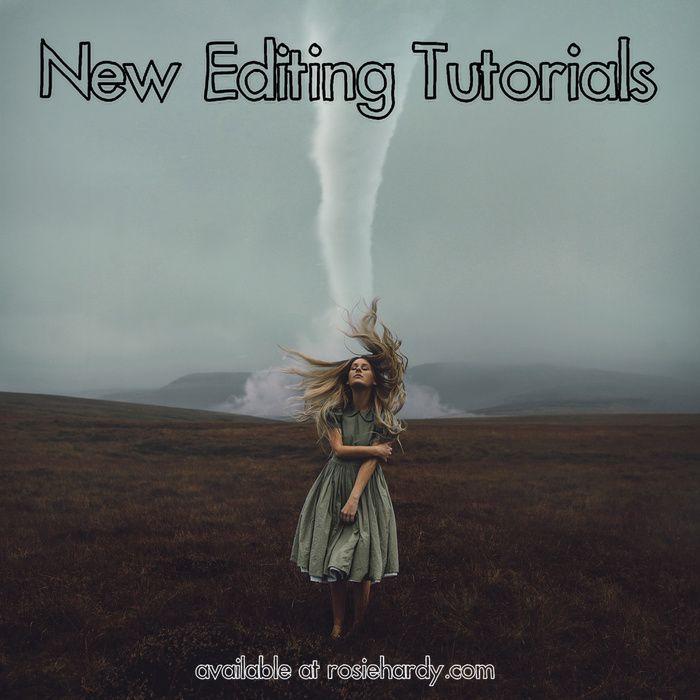 1 - Allez sur www.rosiehardy.com  2 - Cliquer sur *NEW* Editing Tutorials!  3 - Acheter FULL TUTORIALS