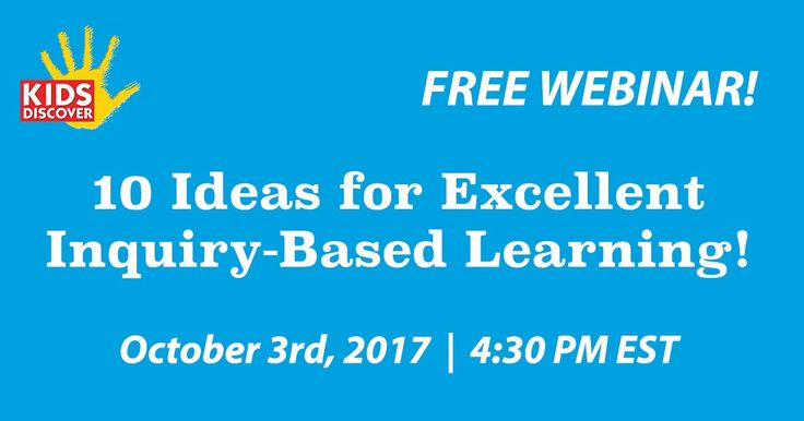 Next week I am joining Vicki Davis and Monica Burns on a free webinar organized by Kids Discover. The webinar will be a panel-style discussion of ten ideas for inquiry-based learning. The webinar is happening live at 4:30pm EST on October 3rd. Some of the ideas that Vicki Monica and I will be sharing include why you should include inquiry-based learning in your practice what inquiry-based learning looks like in practice how to get started and how to get administrative support for…