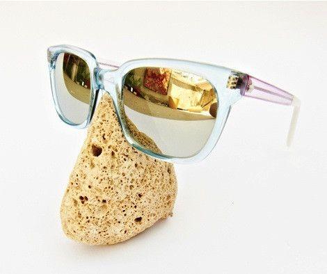 Sheriff&Cherry - G11S Sky Pink Sunglasses, Mirror Lenses