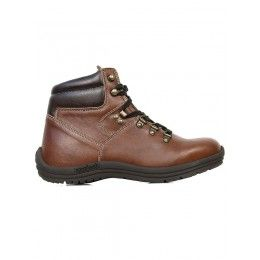 Vegan womens hiking boots in chestnut by Wills London