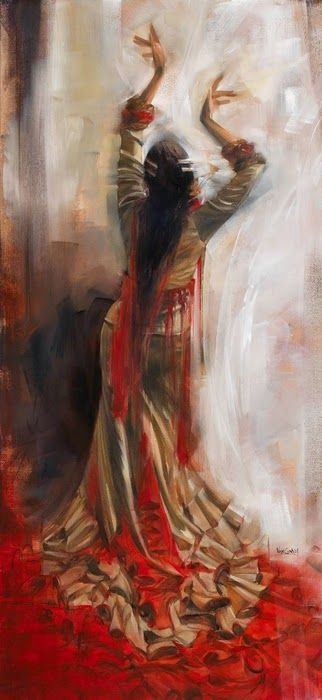 1061 best Flamenco Art images on Pinterest  Flamenco Flamenco