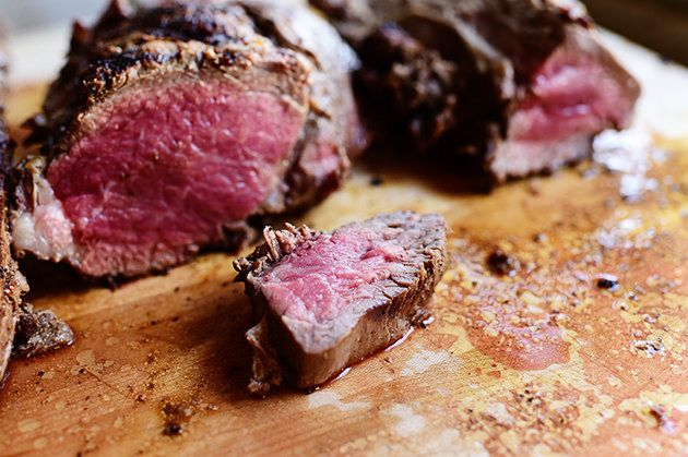 My beloved's grilled beef tenderloins are legendary, and he fixes them two or three times a year, whenever we have a gatherin...