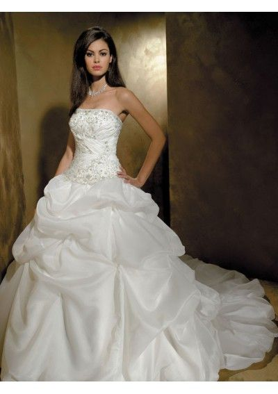 strapless ball gown wedding dresses