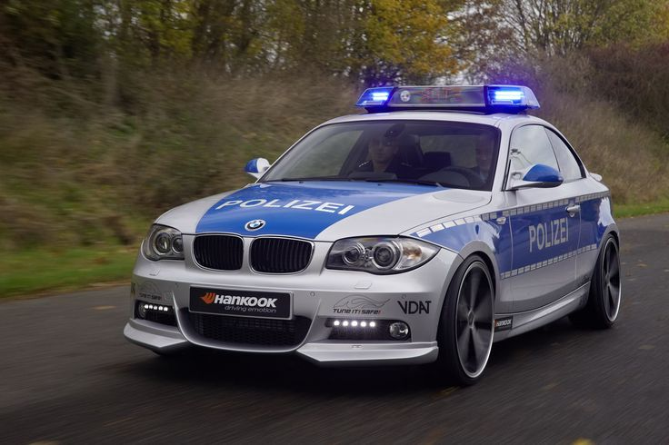 123d Coupe Police Car 14 BMW 1 Series Coupe AC Schnitzer Police Car ...