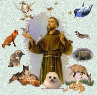 St. Francis of Assisi, patron saint of animals and the environment