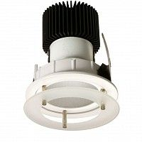 Glass Raft LED Downlight with Aluminium Heat Sink and 13W LED Citizen Light Source. Lifetime Rating up to 60,000 Hours. Frosted Glass drop-down ring.