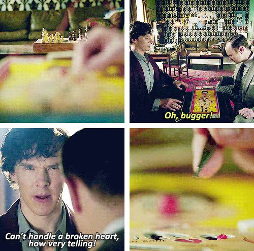 The Empty Hearse - CAN WE PLEASE NOTE. HOW SHERLOCK WAS PLAYING GAMES WITH HIS BROTHER. BECAUSE HE THINKS HES LONELY.