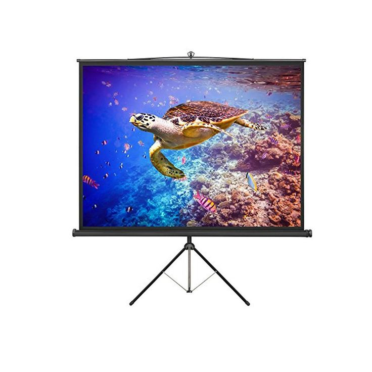 Large Freestanding 86  Projector Screen With Tripod Stand Portable Stable White LARGE FREESTANDING 86 PROJECTOR SCREEN WITH TRIPOD STAND PORTABLE STABLE WHITE BEST PRICE FORLARGE FREESTANDING 86  LARGE FREESTANDING 86 DESCRIPTION                               This Large Freestanding 86  Projector Screen  is ideal for business presentations of all kinds or home movies.  You might be running a training session, delivering a sales pitch or outlining a business plan – either way, with this…