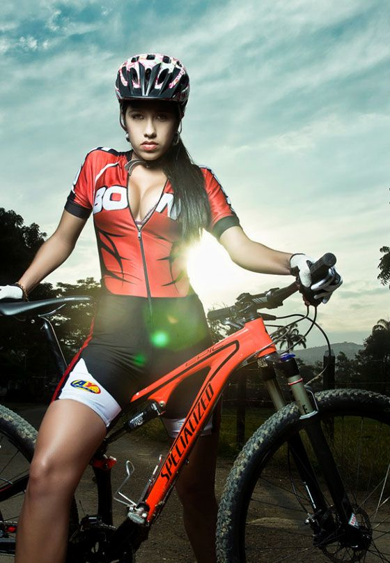Girl mountain bikers nude 15
