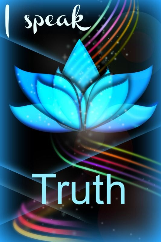 Blue lotus flower of TRUTH  Liberate your truth, free the energy in your throat chakra  www.chakra-lover.com/throat-chakra.html
