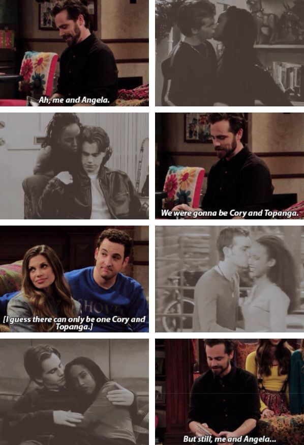 Yes! Boy/Girl Meets World!! Shawn and Angela forever!