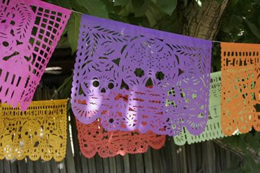 day of the dead party pack papel picado banners