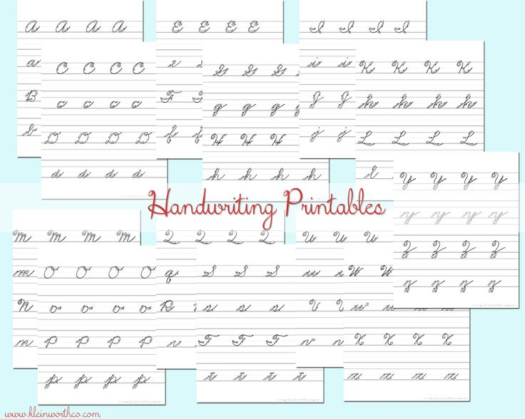 Best 25+ Cursive handwriting practice ideas on Pinterest ...