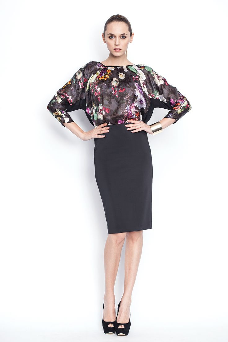 www.nissa.com #nissa #outfit #fashion #style #officewear #model #fashionista #beautiful #floral