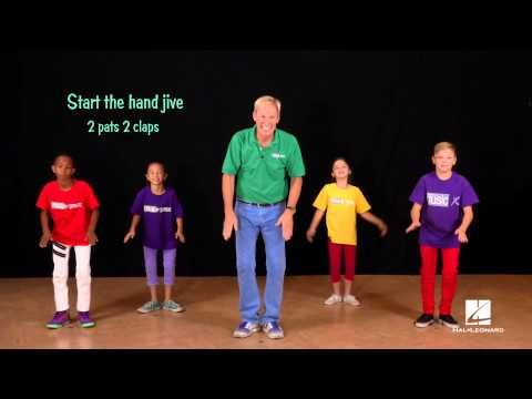 I Love the Mountains - IDEA - choreography/actions when teaching the song so students are able to be successful when singing the round.